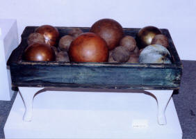 A Table With Balls