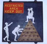 Restricted Area-Keep Out'